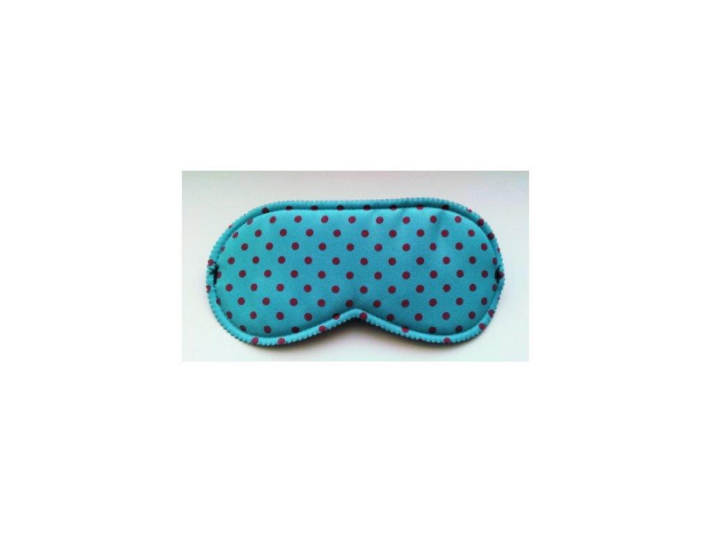 Maska na spaní - škraboška modrá  Škraboška - modrá