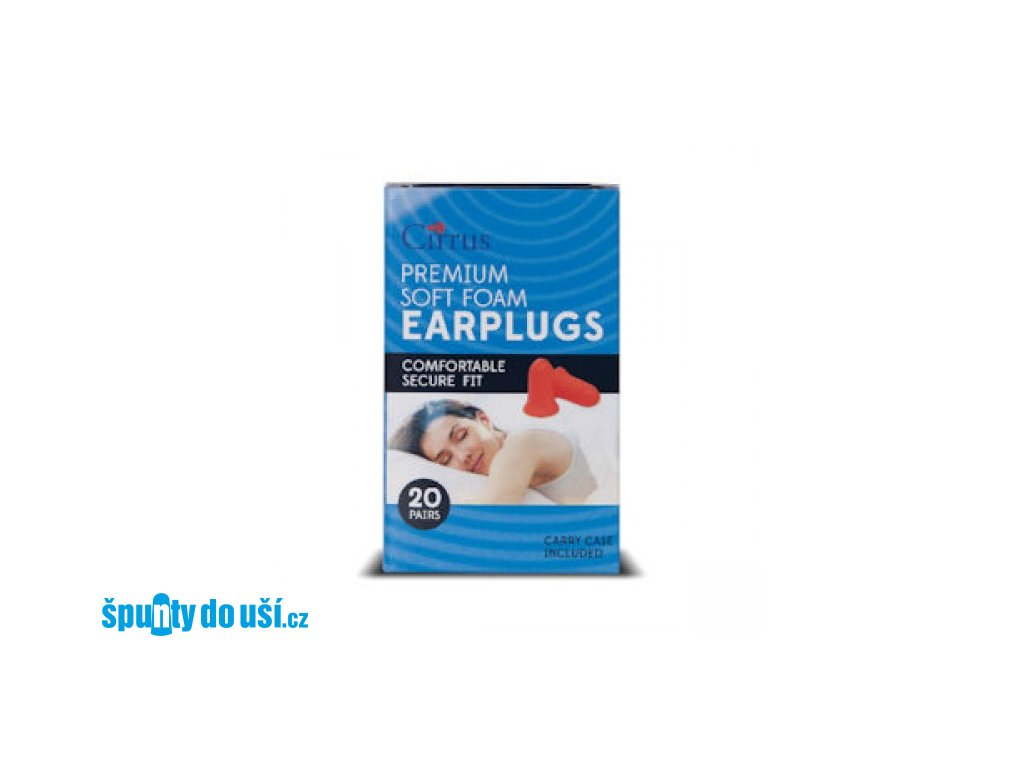Cirrus Premium špunty do uší pro větší ušní kanálky  Cirrus Premium špunty