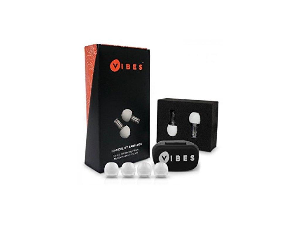 Vibes Hi-Fi špunty do uší pro muzikanty  Vibes Hi-Fi