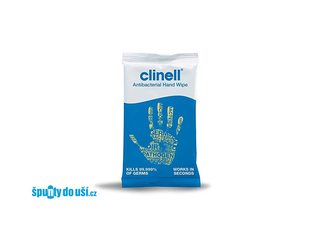 Clinell - antibakteriální ubrousek  Clinell