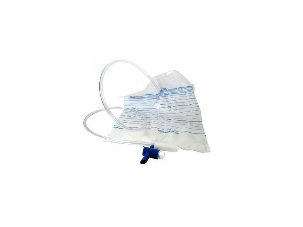 Urologický sáček na moč s výpustí