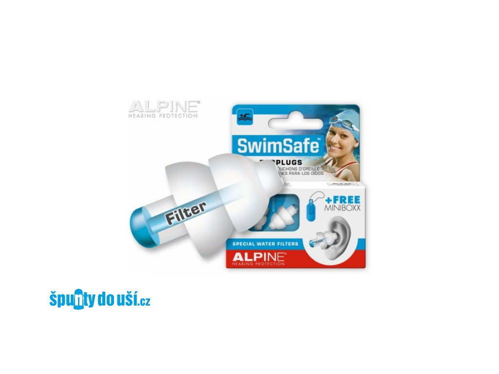 Alpine SwimSafe špunty  Alpine SwimSafe