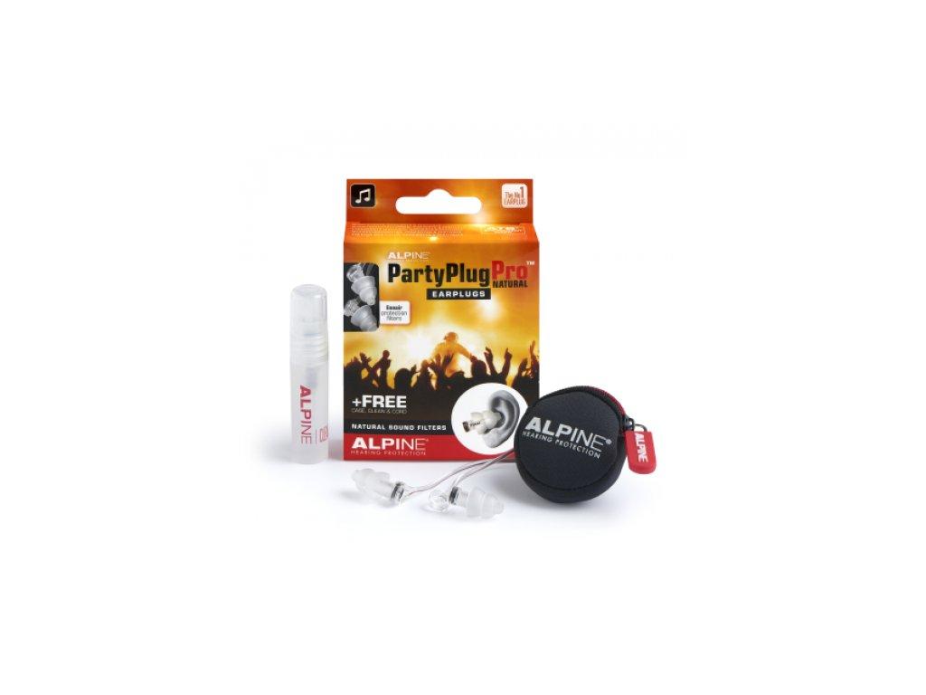 Alpine PartyPlug Pro špunty do uší pro hudebníky  Alpine PartyPlug Pro