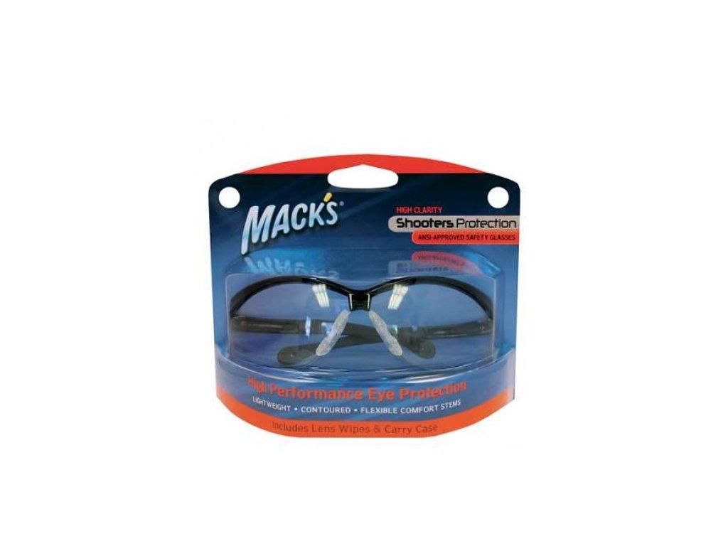 Mack's ochranné brýle - čiré  Brýle Mack's čiré