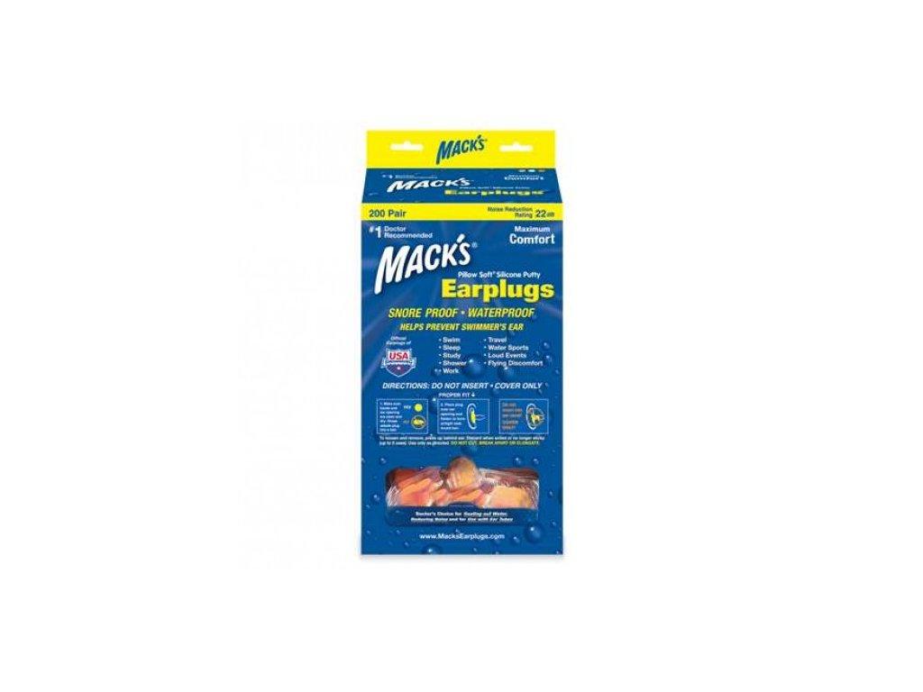 mack-s-pillow-soft-silikonove-spunty-do-usi-oranzove-200-paru