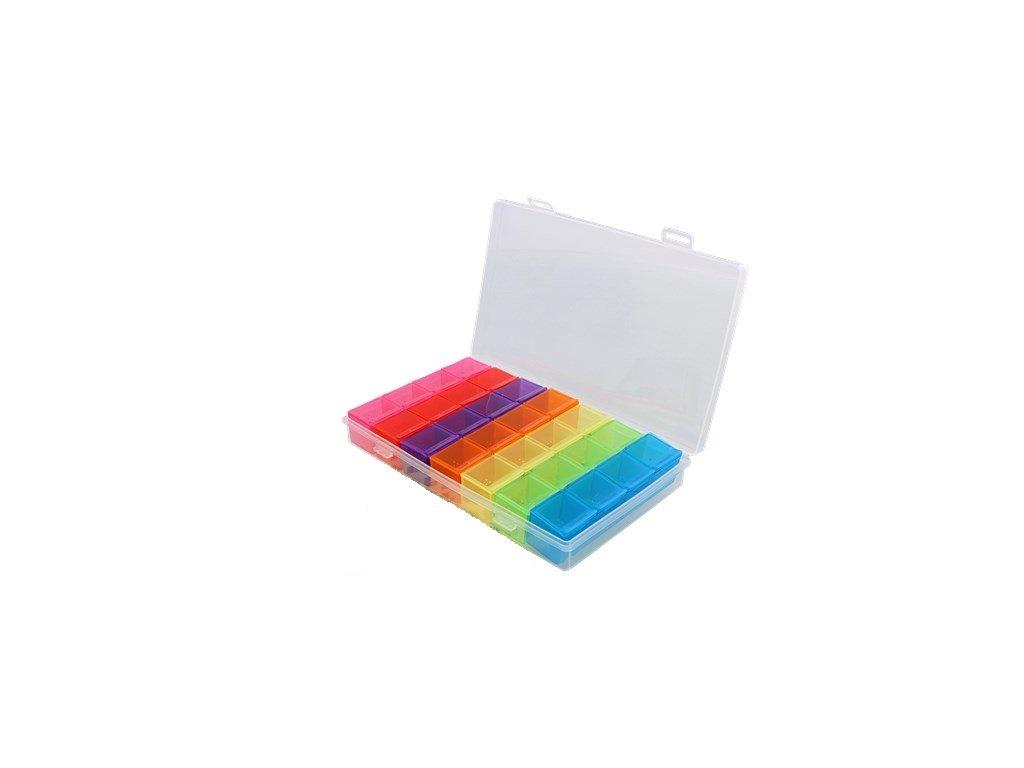 davkovac leku tydenni barevny
