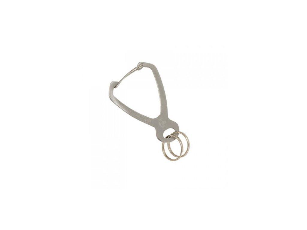 chums Vortex Utility Keychain karabina stribrna