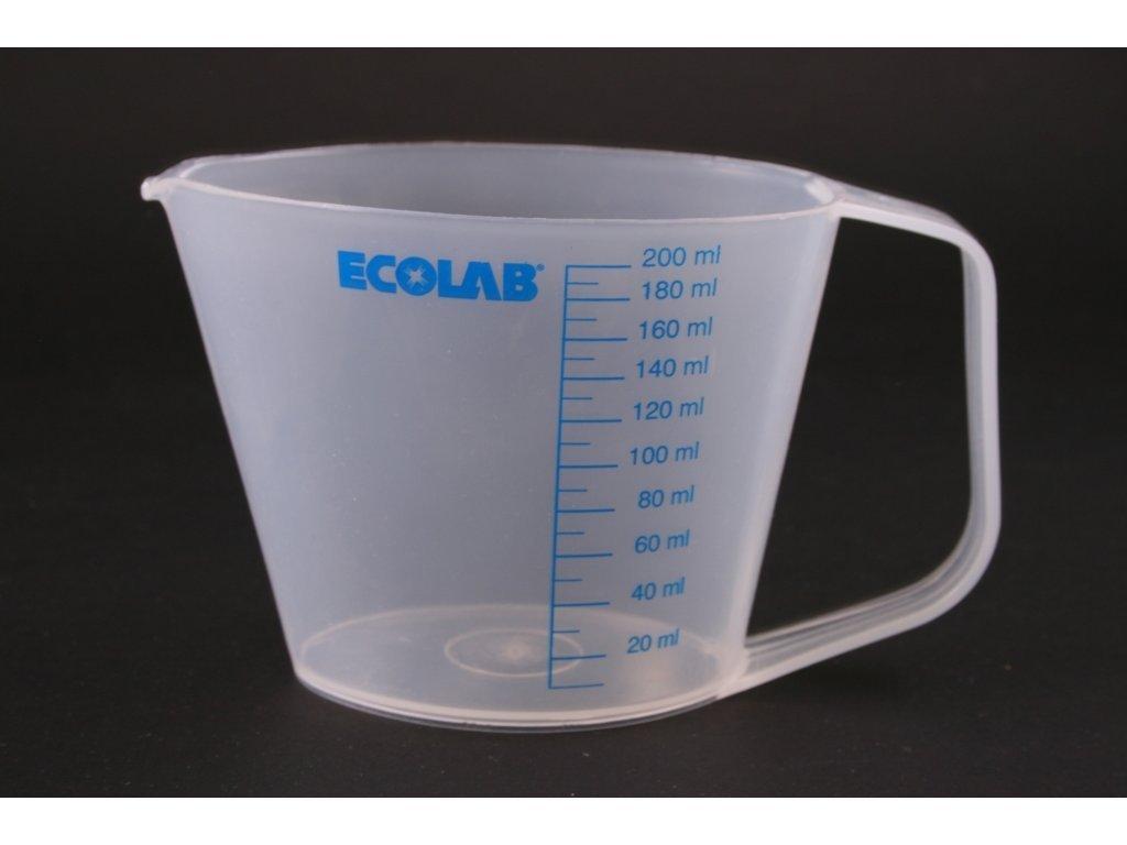 Odměrka 200 ml Ecolab