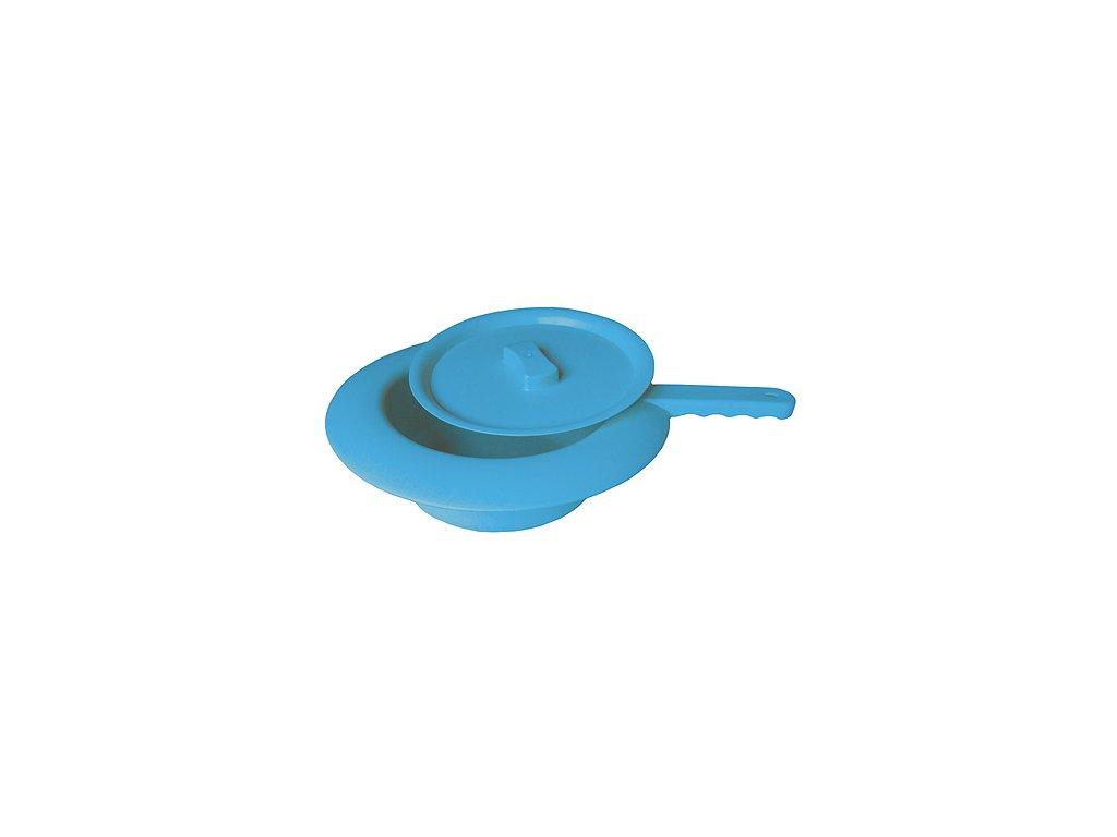 podlozni misa plastova s vikem modra