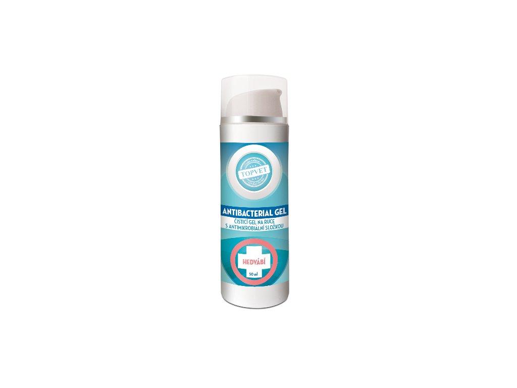topvet antibakterialni gel hedvabi 50 ml