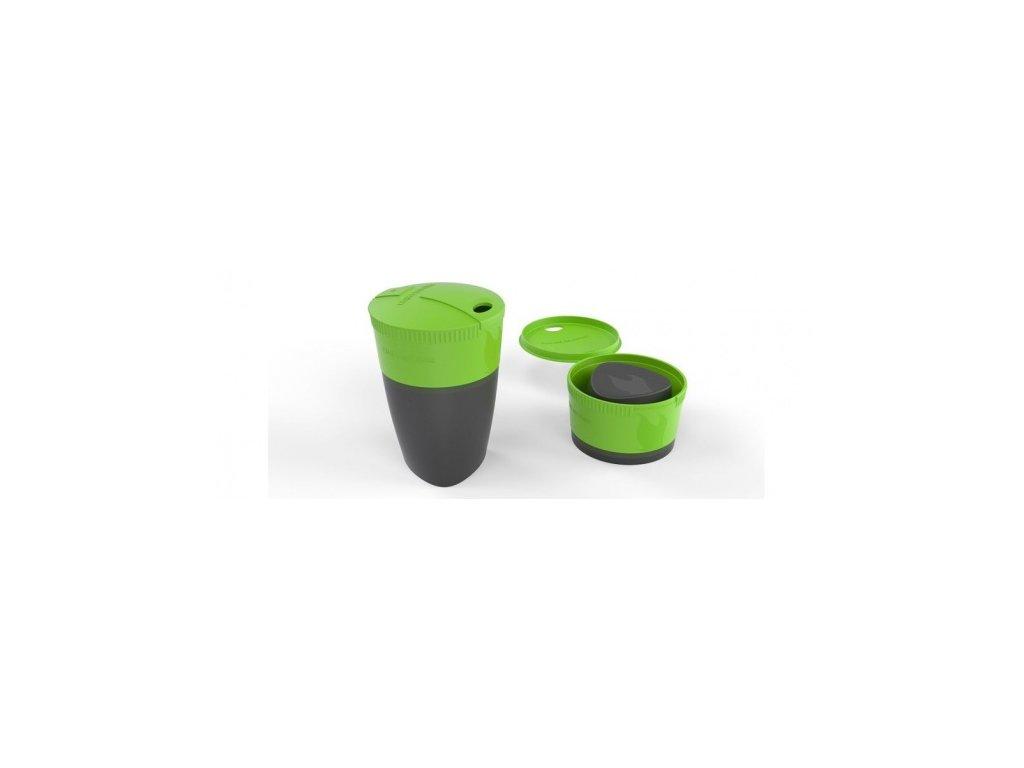 skladaci hrnicek pack up cup zeleny