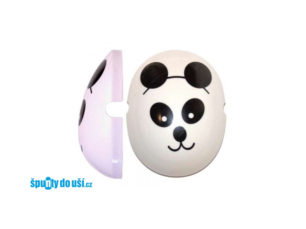 Krytky na dětské chrániče sluchu - Panda  Edz Capz Panda