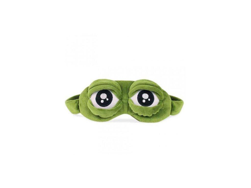 Maska na spaní pro děti - Žába  Maska - Frog