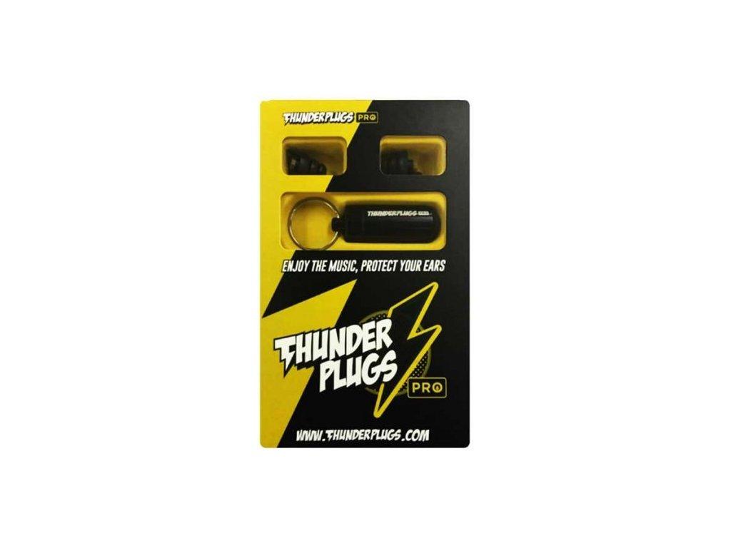 Thunderplugs Pro špunty do uší pro muzikanty  Thunderplugs Pro