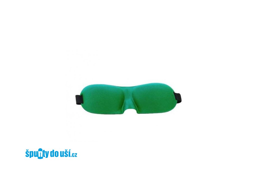 3d-maska-na-spani-tmave-zelena