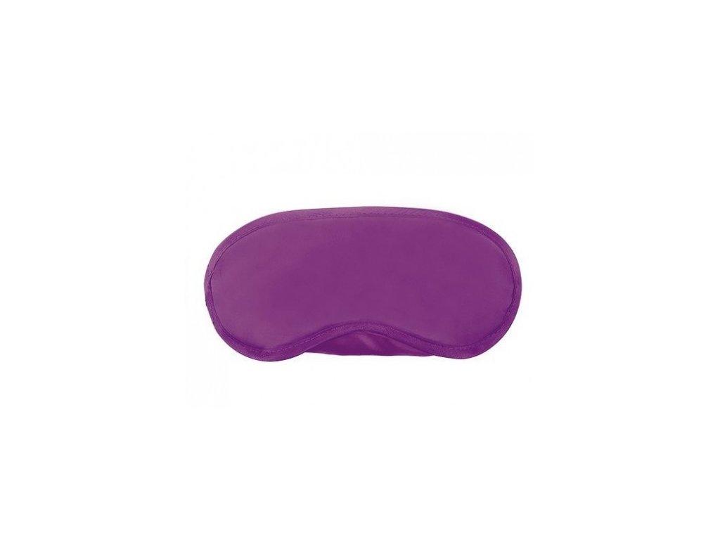 Maska na spaní Classic fialová  Maska Classic fialová