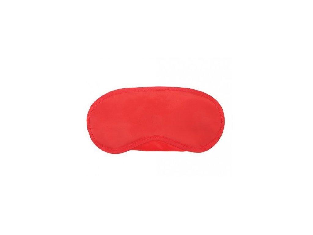 Maska na spaní Classic červená  Maska Classic červená