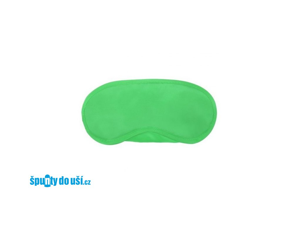 Maska na spaní Classic zelená  Maska Classic zelená
