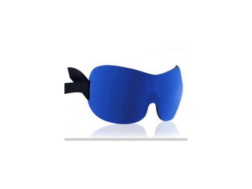 3D Premium Maska na spaní  - modrá  Maska 3D premium modrá