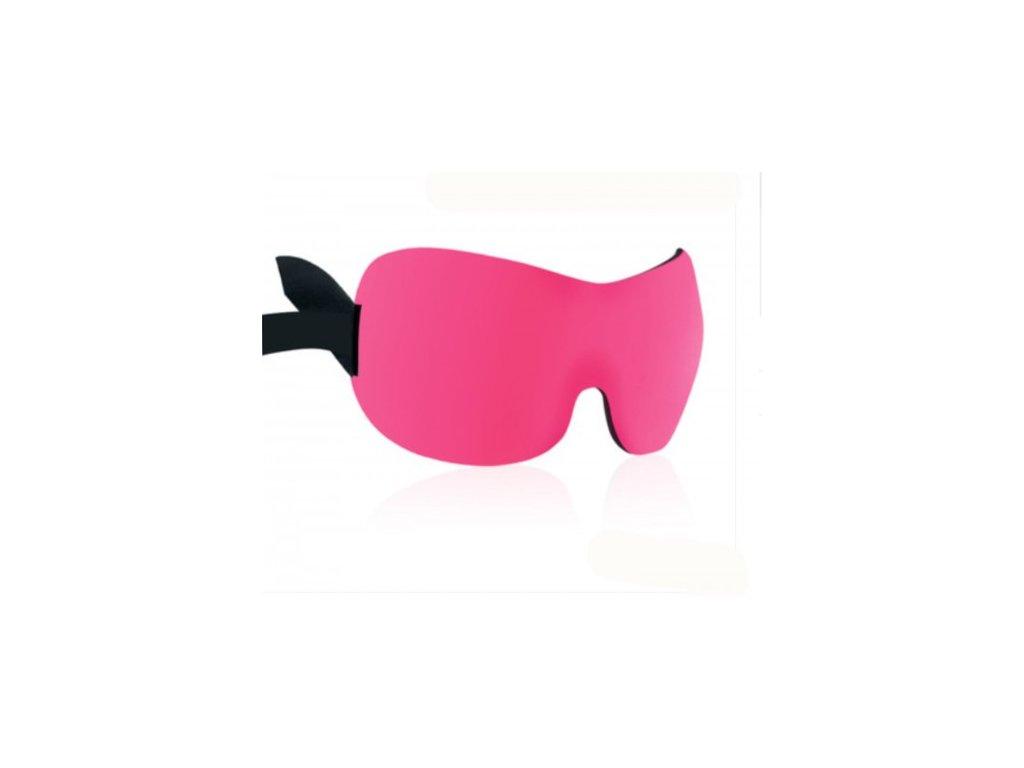 3D Premium Maska na spaní  - růžová  Maska 3D premium růžová