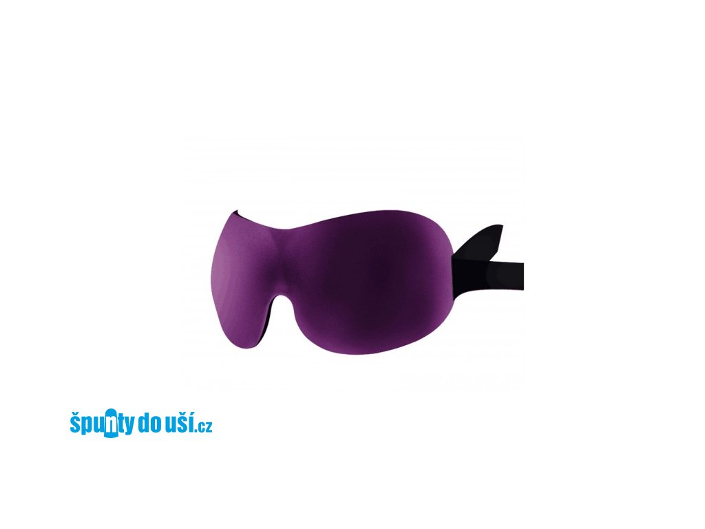 3D Premium Maska na spaní  - fialová  Maska 3D premium fialová