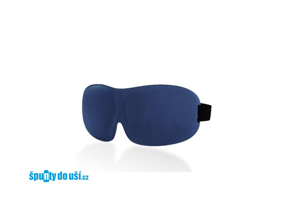 3D Premium Maska na spaní  - tmavě modrá  Maska 3D premium tm. modrá