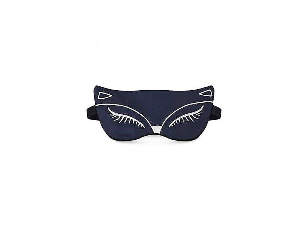Maska na spaní - Pussycat modrá  Maska Pussycat modra