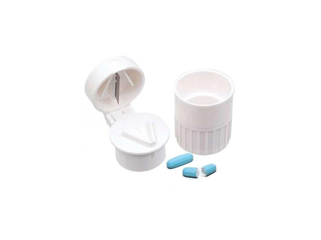 Dávkovač - půlitko - drtič tabletek  Acu-Life dávkovač 4v1