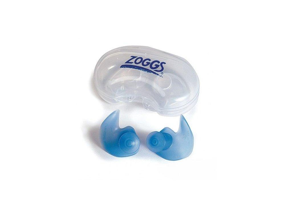 Zoggs špunty do uší na plavání  Zoggs špunty adult modrá