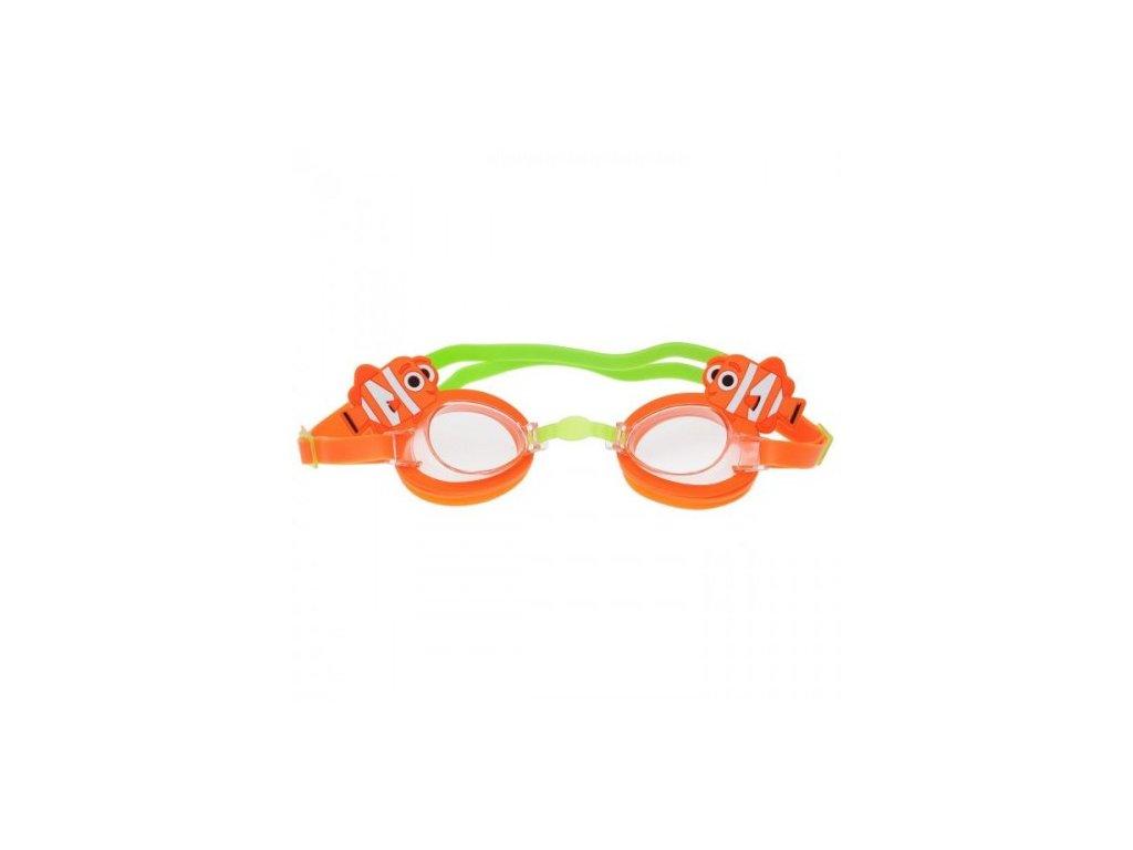 Zoggs dětské plavecké brýle - oranžové  Zoggs brýle Nemo oranžové