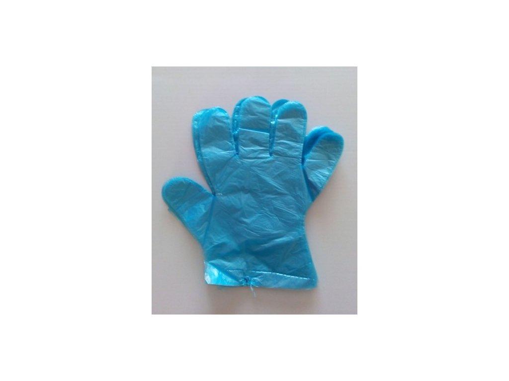 Jednorázové rukavice modré 100 ks  Jednorázové rukavice 100ks modré