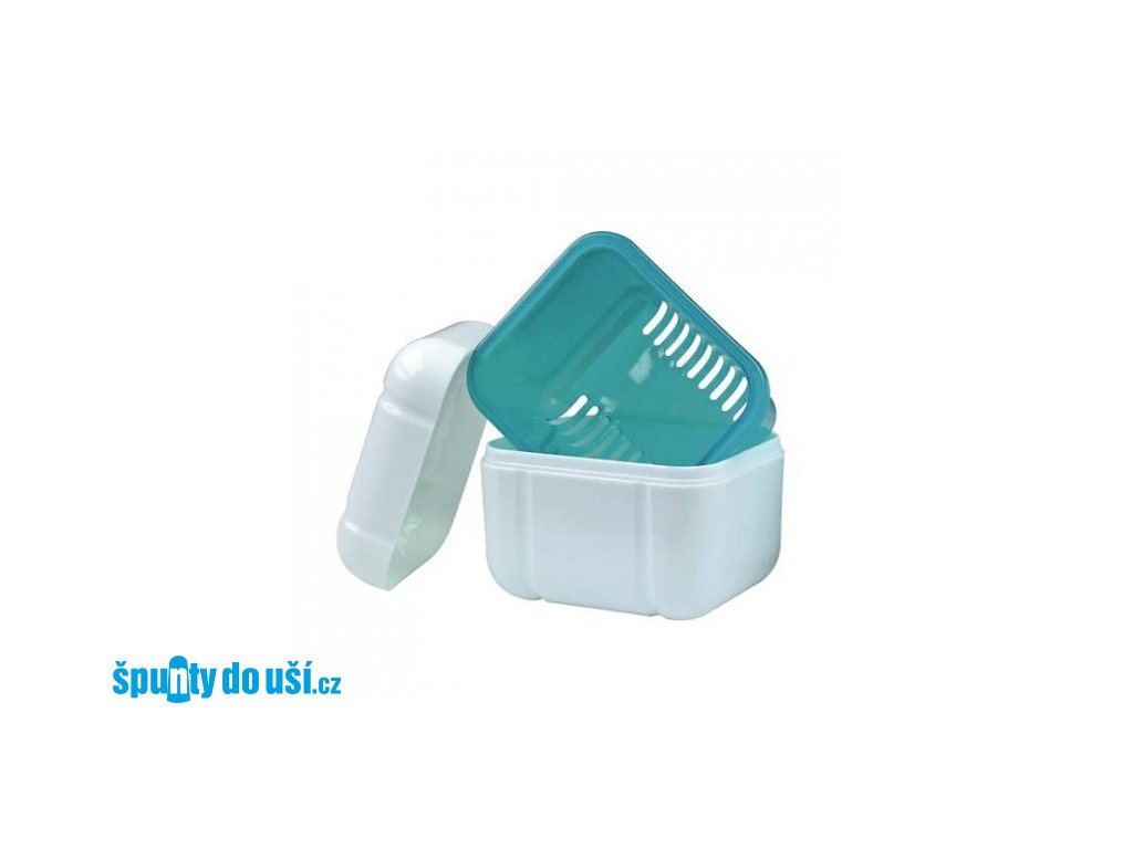 Skladovací krabička na zubní protézu  Wisdom Denture Bath