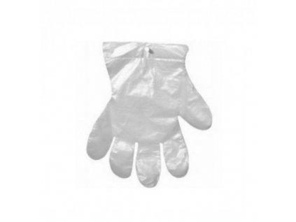 Jednorázové rukavice čiré 100 ks  Jednorázové rukavice 100ks čiré