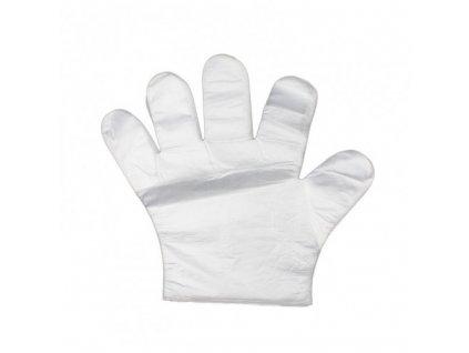 TDK Jednorázové rukavice čiré 100ks  Jednorázové rukavice TDK 100