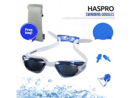 Haspro dětská plavecká sada modrá  Haspro chlapecká sada