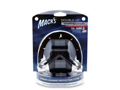Mack's chrániče sluchu černé  Mack's sluchátka černé