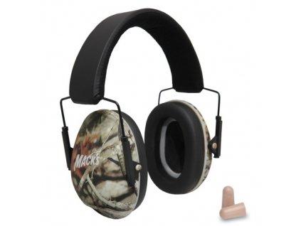 Mack's chrániče sluchu maskáčové  Mack's sluchátka maskáčové