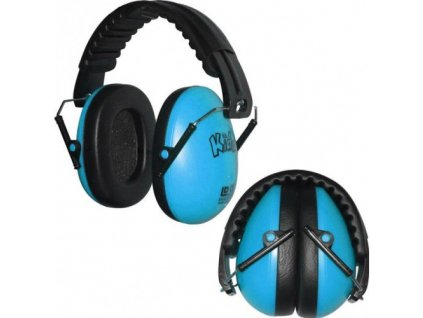 Dětské chrániče sluchu Edz Kidz - modré  Sluchátka EdzKidz - modré