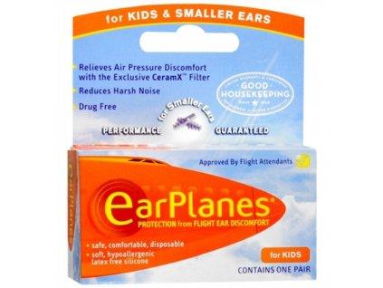 Cirrus EarPlanes dětské špuntydo uší  do letadla  EarPlanes ucpávky dětské