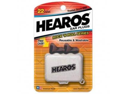 Hearos Rock n Roll ucpávky - špunty do uší  Hearos Rock n Roll 1 pár