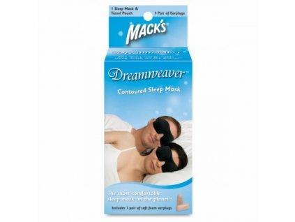 Mack's Dreamwaver maska na spaní  Mack's Dreamwaver maska