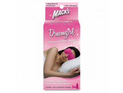 Mack's Dreamgirl maska na spaní  Mack's Dreamgirl maska