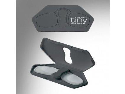 TINY klip čtecí brýle  Tiny brýle šedá