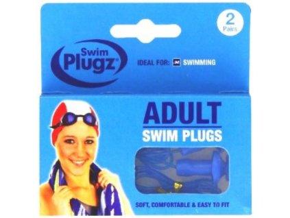 Hush lamelové silikonové ucpávky do uší - 2 páry  Hush Swim