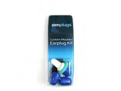 ZenPlugs  DIY - samotvarovací ucpávky do uší  ZenPlugs modré