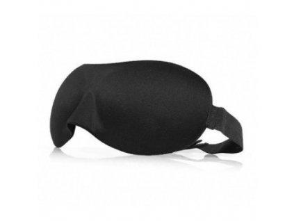 3D Maska na spaní  - černá  Maska 3D černá