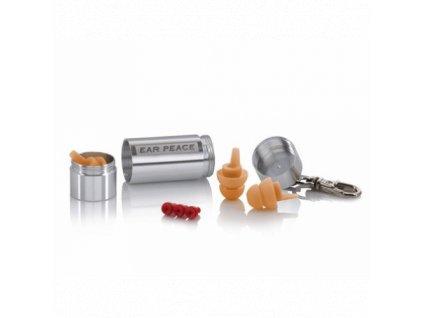 EarPeace HD špunty do uší pro muzikanty  EarPeace HD stříbrná- tělová