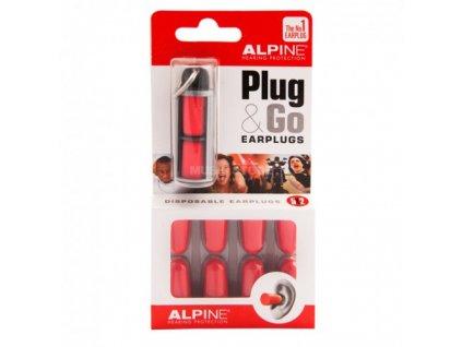Alpine Plug & Go špunty do uší  Alpine Plug & Go