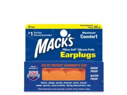 mack-s-pillow-soft-silikonove-spunty-do-usi-oranzove-2-pary