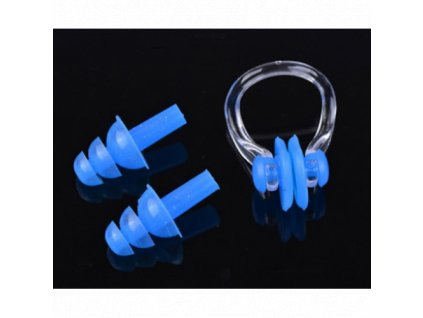 Nosní skřipec + ucpávky do uší do vody  Skřipec+ucpávky Shenyu/Haisen